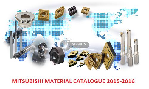 Mitsubishi Material  Catalogue 2015-2016