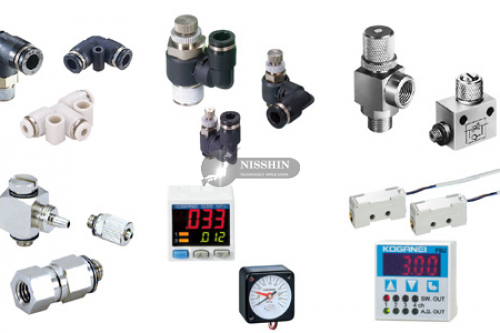 Speed controller, fittings, tubes, etc.